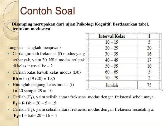Latihan Soal Statistik Soalmatematika Com Download Lengkap
