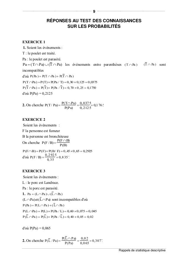 descriptive probabilites Lecture notes for introductory probability janko gravner mathematics department university of california davis, ca 95616 gravner@mathucdavisedu  one should also note that both probabilities are barely difierent from 1=2, so de m¶er¶e was gambling a lot to be able to notice the difierence.