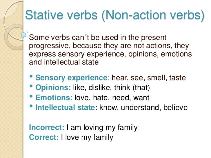 ACTION AND STATE VERBS DOWNLOAD
