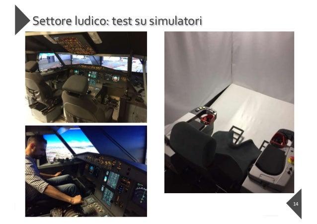 https://ai-textiles.diee.unica.it Settore ludico: test su simulatori 14