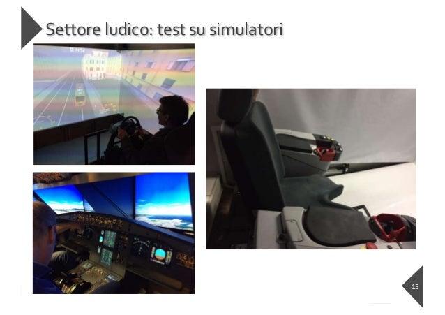 https://ai-textiles.diee.unica.it Settore ludico: test su simulatori 15