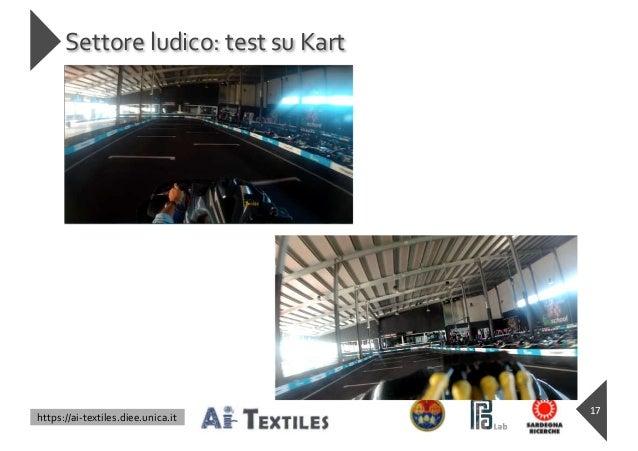 https://ai-textiles.diee.unica.it Settore ludico: test su Kart 17