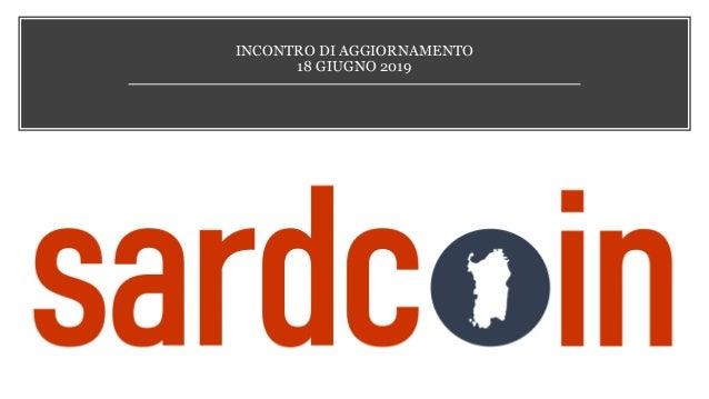 INCONTRO DI AGGIORNAMENTO 18 GIUGNO 2019