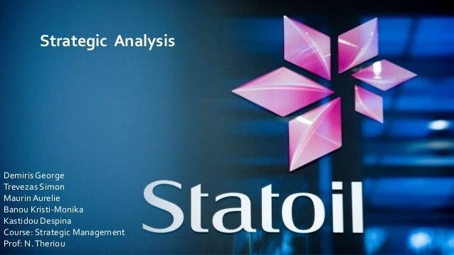 Strategic Analysis Demiris George Trevezas Simon MaurinAurelie Banou Kristi-Monika Kastidou Despina Course: Strategic Mana...