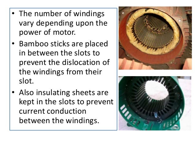 Stator and rotor of a monoblock motor for Rotor stator hydraulic motor