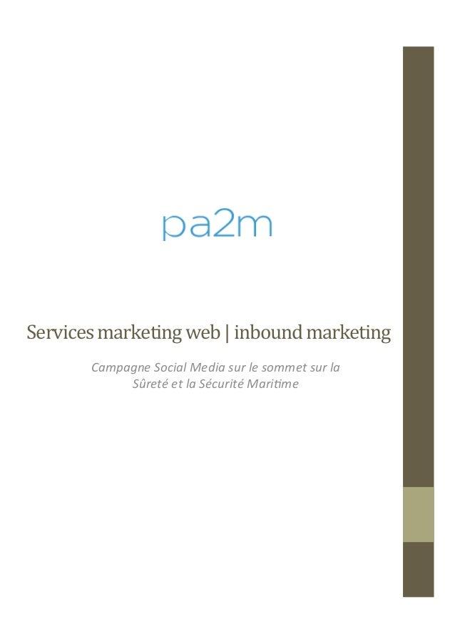 Services  marketing  web  |  inbound  marketing      Campagne  Social  Media  sur  le  sommet  s...