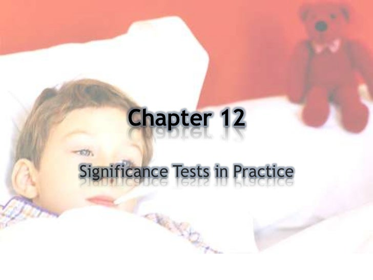 Stats chapter 12