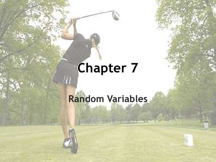 Stats chapter 7
