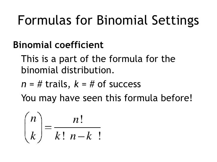 tree diagrams and binomial probabilities chapter Chapter 6: probability students calculate conditional probabilities using a tree diagram 606 tree diagrams in this videos, students use the binomial distribution to find the expected value, variance, and probabilities associated with a binomial random variable.