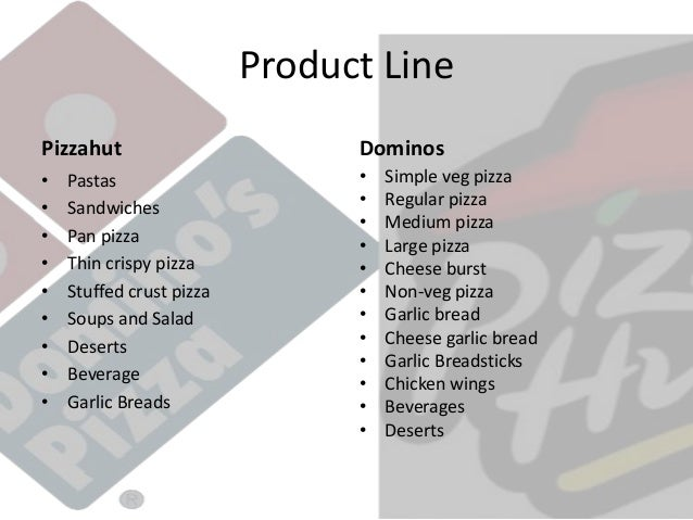 Statistical Analysis Between Pizza Hut Brand And Domminos