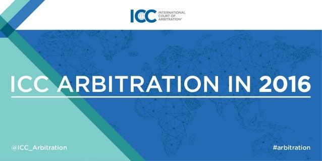 Statistics ICC Arbitration 2016