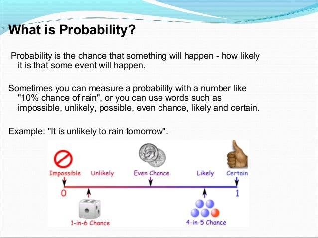 all about probability and statistics Probability deals with the measure or estimation of events that are likely to happen in mathematics statistics formulas more topics in probability formulas.