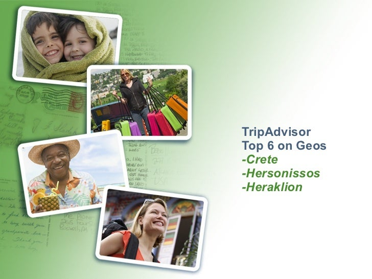 TripAdvisor Top 6 on Geos -Crete -Hersonissos -Heraklion