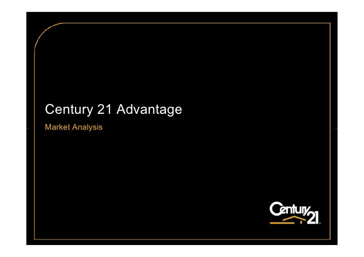 Century 21 Advantage Market Analysis