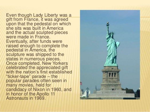 Statue of Liberty Presentation