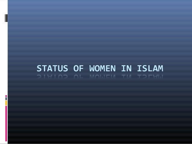 Status of Women in Islam Essay Sample