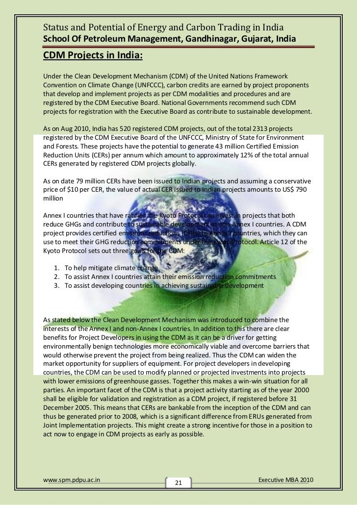 carbon credit management in india India is an emerging market for carbon credits ecosecurities, a developer and trader of carbon credit projects is looking at investment opportunities for such projects in.