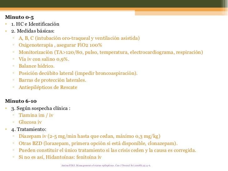 <ul><li>Minuto 0-5 </li></ul><ul><li>1. HC e Identificación </li></ul><ul><li>2. Medidas básicas: </li></ul><ul><ul><li>A,...
