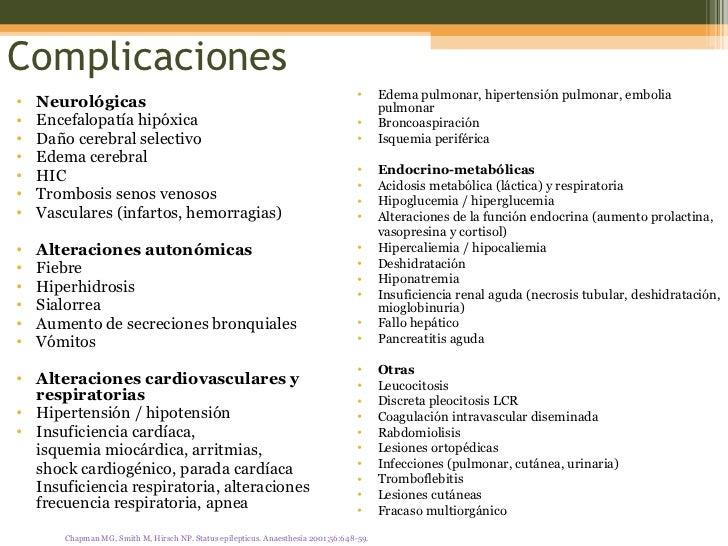 Complicaciones <ul><li>Neurológicas </li></ul><ul><li>Encefalopatía hipóxica </li></ul><ul><li>Daño cerebral selectivo </l...