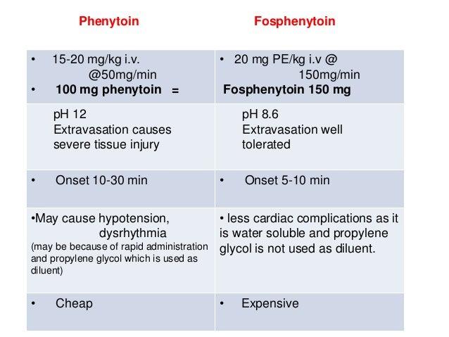 loading epilepticus status phenytoin