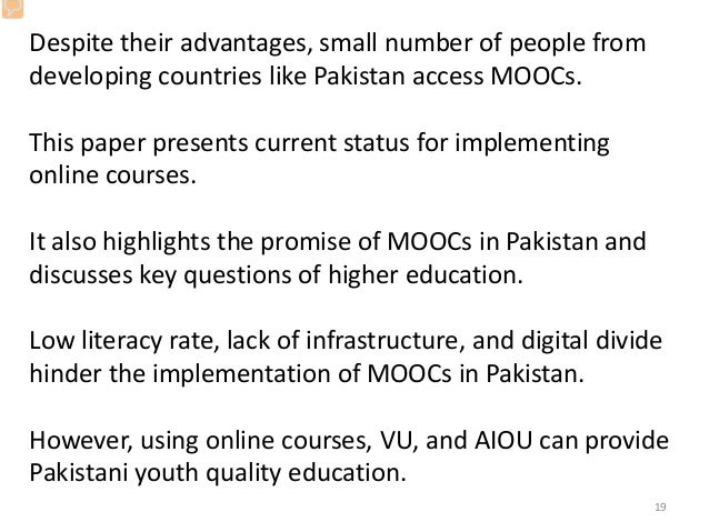 lack of education in pakistan essay Find education essay for class 1, 2  people living in backwards areas of the country are still not able to get proper education because of the lack of some basic .