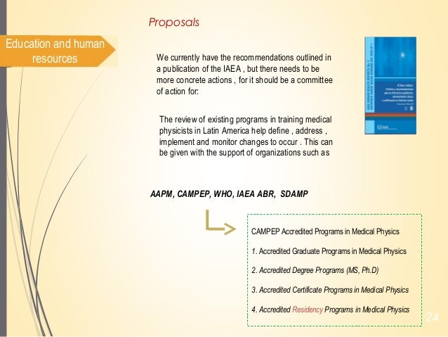 Status of Medical Physics collaborations and projets in LA