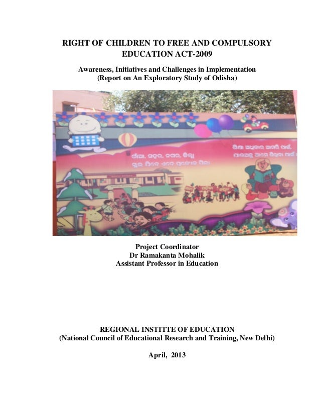 Status of right to education in odisha