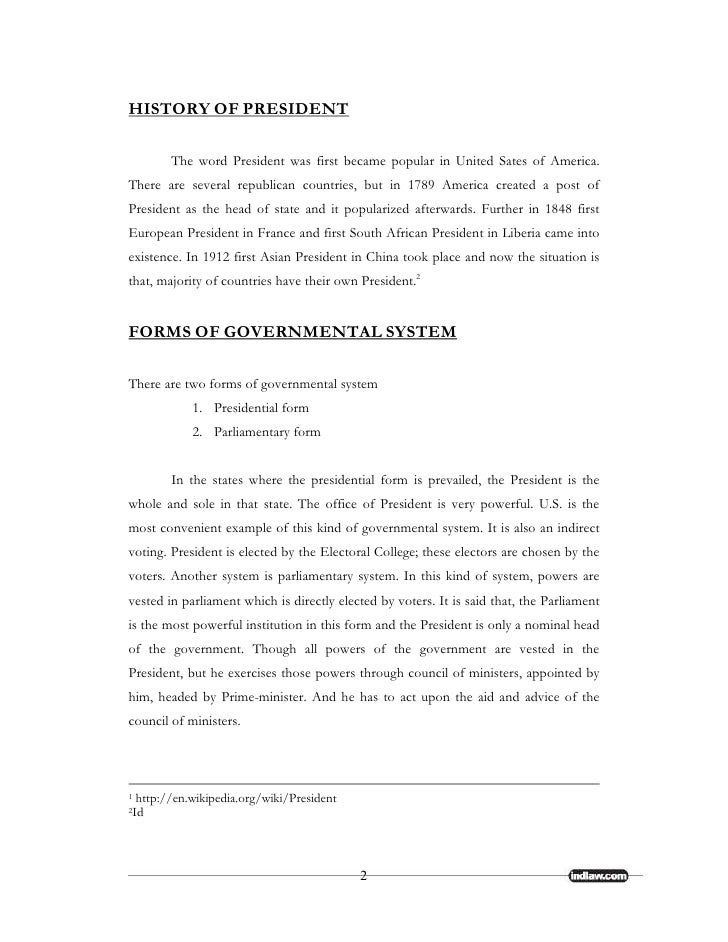 Status of the president under the constitution - Define executive office of the president ...
