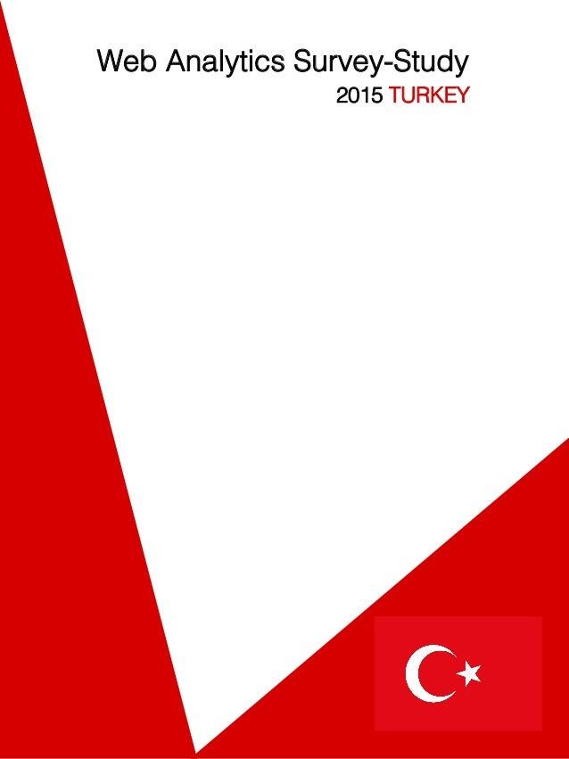 Web Analytics Survey-Study ! 2015 TURKEY !
