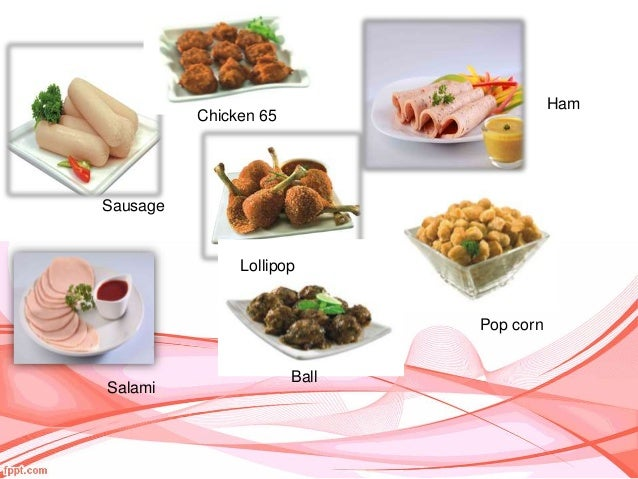Meat Processing And Value Added Product Outline