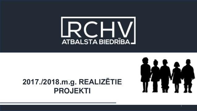 2017./2018.m.g. REALIZĒTIE PROJEKTI 1