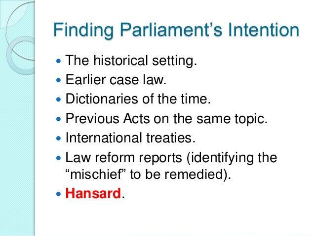 rules of statutory interpretation pdf