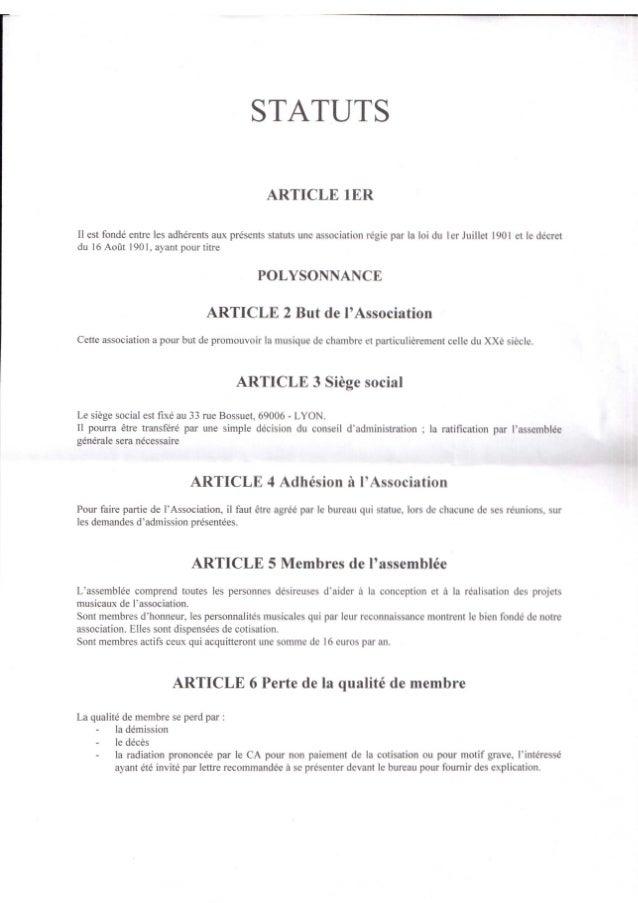 Statuts polysonnance 2014