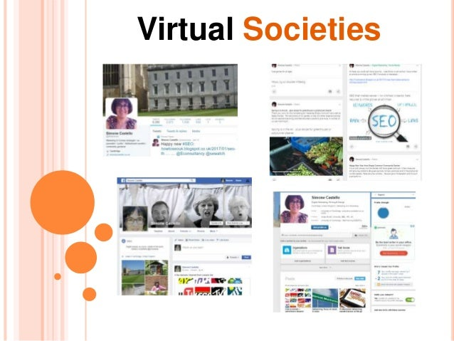 BLOGGING FOR BEGINNERS Virtual Societies