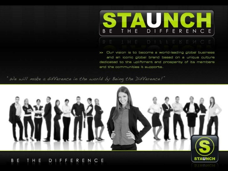 Staunch be the_difference_v3