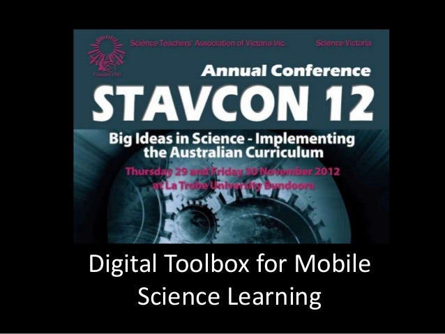Digital Toolbox for Mobile     Science Learning