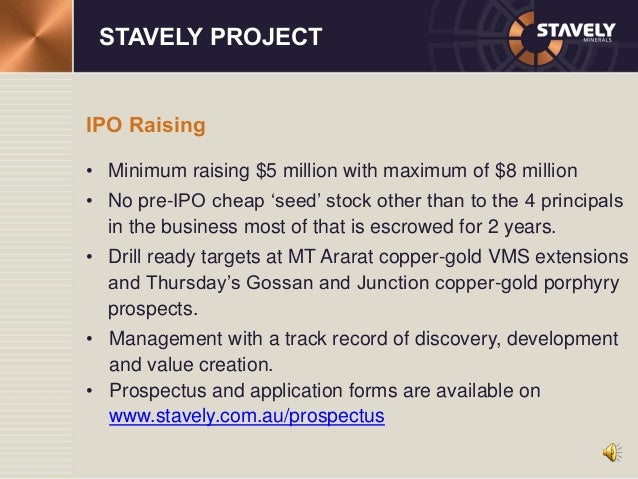 Kodal mineral ipo prospectus