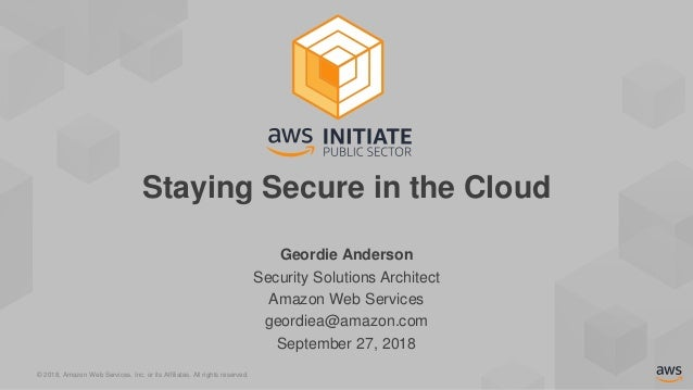 Staying Secure in the Cloud