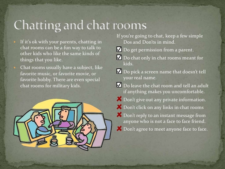 Staying Safe In Chat Rooms