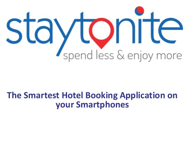Staytonite Last Minute Hotel Booking Mobile Application