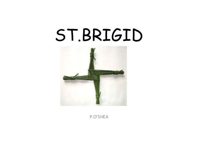 ST.BRIGID P P.O'SHEA