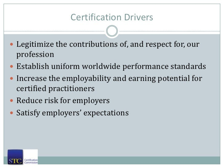 Stc Cptc Certification