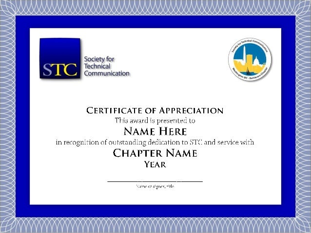 Sample stc chapter volunteer service certificate thank you yelopaper Choice Image