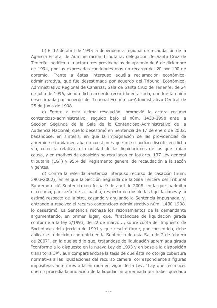 Stc 38 2011 de 28 de marzo for Oficina tributaria canaria