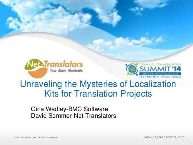 © 2010 Net-Translators, LLC. All rights reserved© 2014 Net-Translators. All rights reserved www.net-translators.com Unrave...