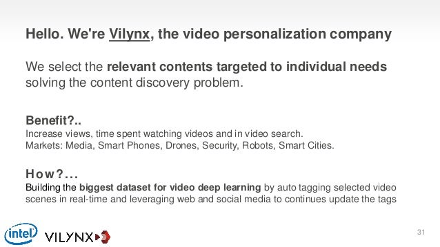 How?... Building the biggest dataset for video deep learning by auto tagging selected video scenes in real-time and levera...