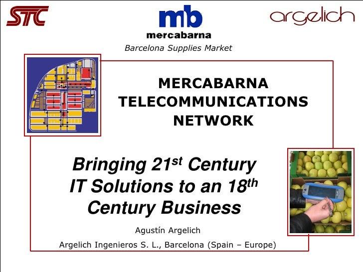 San Francisco 30th Anniversary                                 Barcelona Supplies Market                                  ...