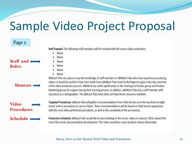 Getting Started With Video and Animation (STC Summit 2014) #stc14