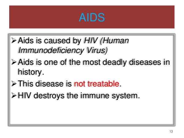 Sexually transmitted diseases aids