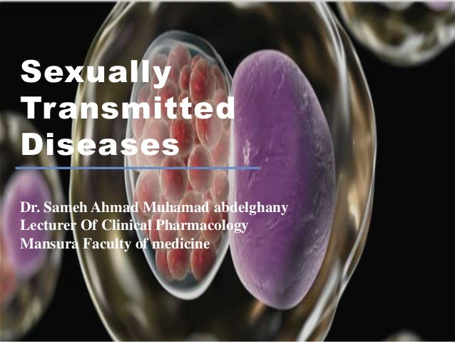 Sexually transmitted infections lecturers